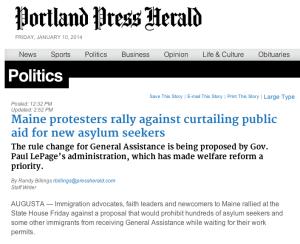 Portland Press Herald 01.11.14
